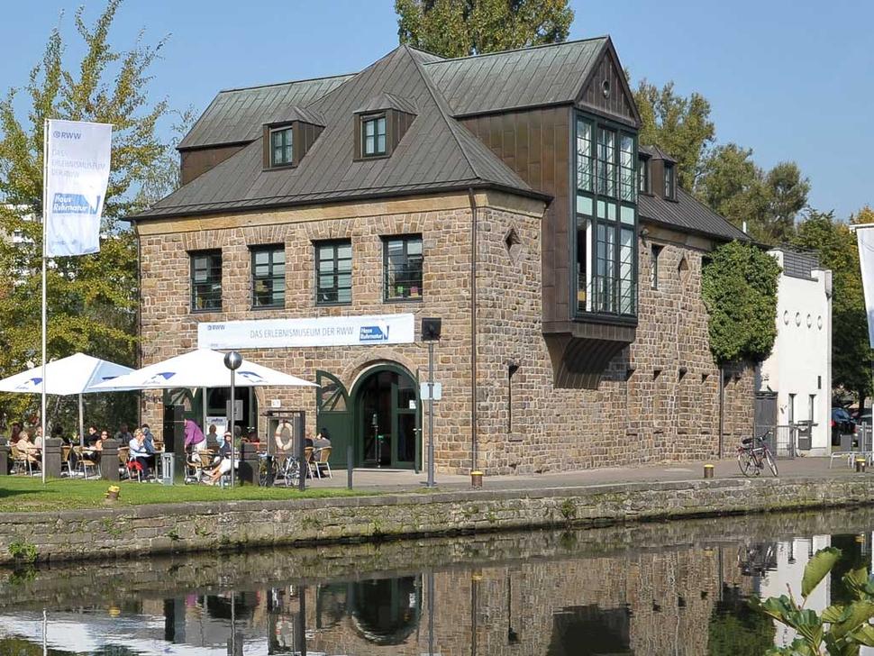 Haus Ruhrnatur, Mülheim (Foto: RWW, Rheinisch-Westfälische Wasserwerksgesellschaft mbH