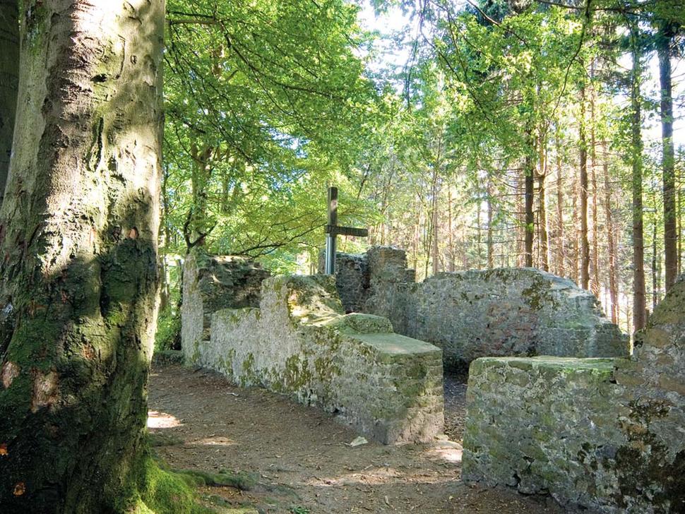 Wallburg am Tönsberg, Oerlinghausen (Foto: Werner Stapelfeldt)