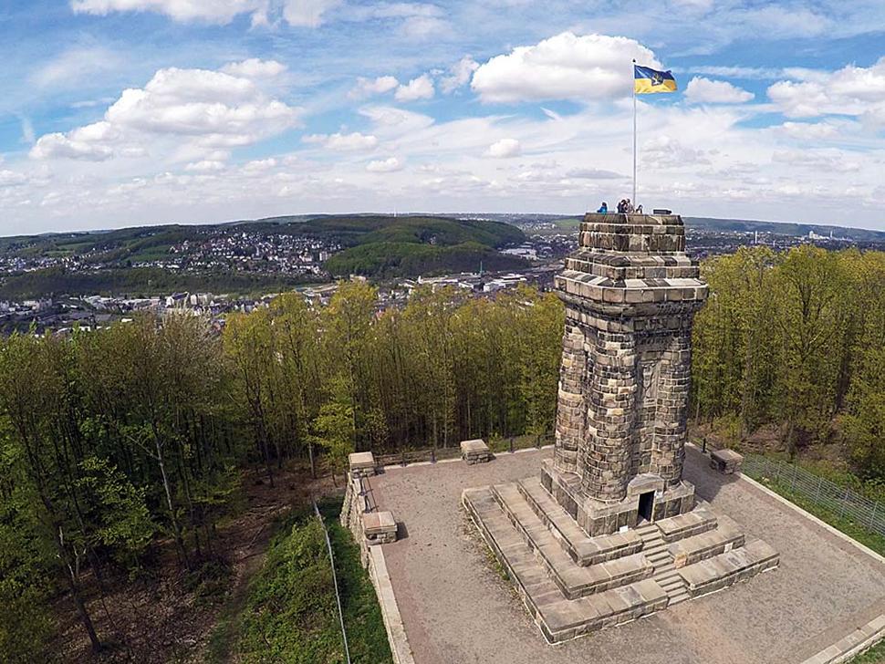 Bismarckturm Hagen (Foto: Corinna Jungbauer)