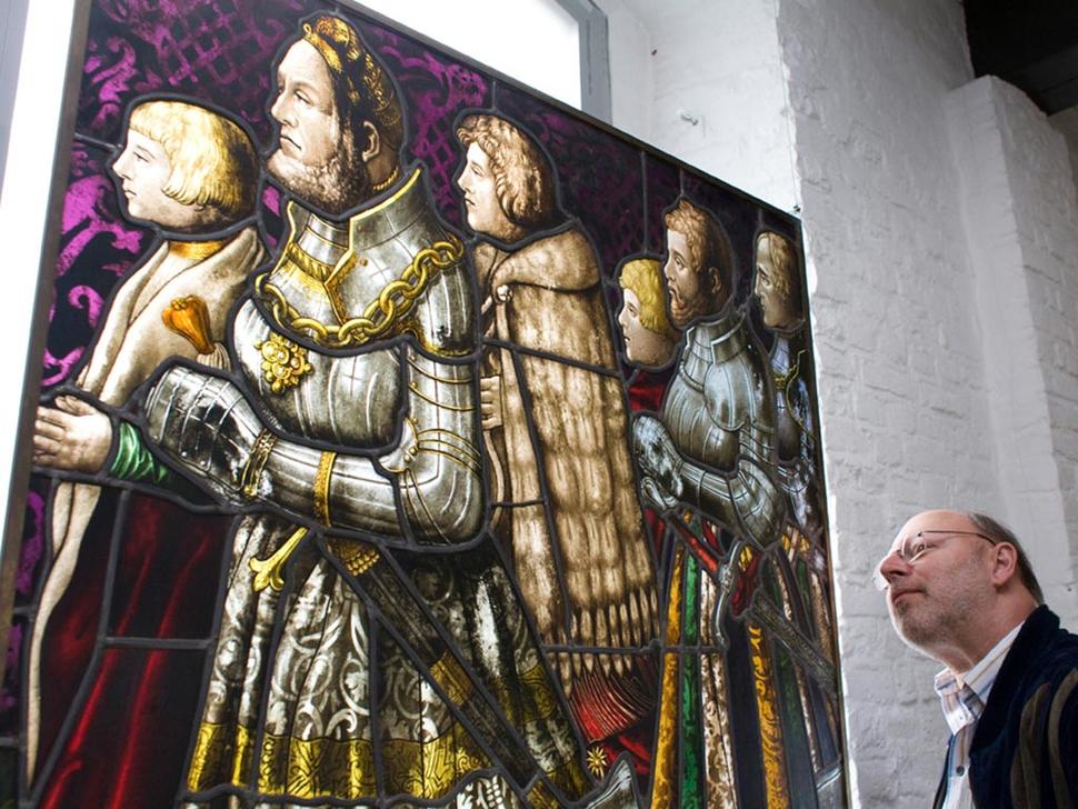 Glasmalerei-Museum Linnich (Foto: Werner Stapelfeldt)