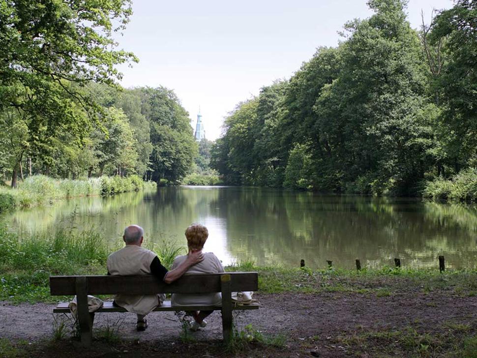 Tiergarten Schloss Raesfeld (Foto: Werner Stapelfeldt)