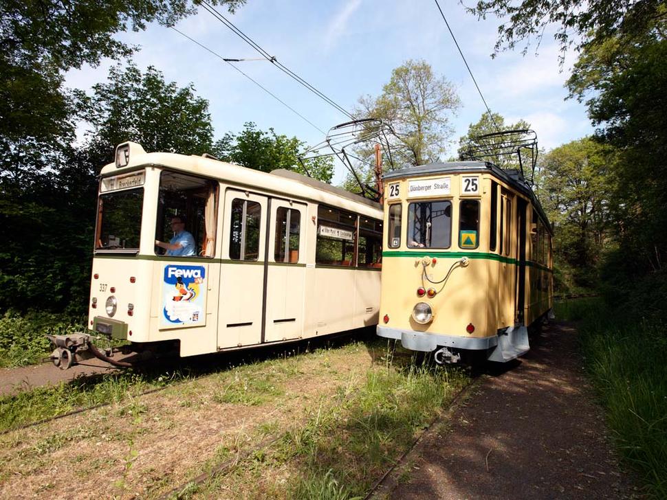 Fahrten mit den Bergischen Museumsbahnen (Foto: Lars Langemeier)