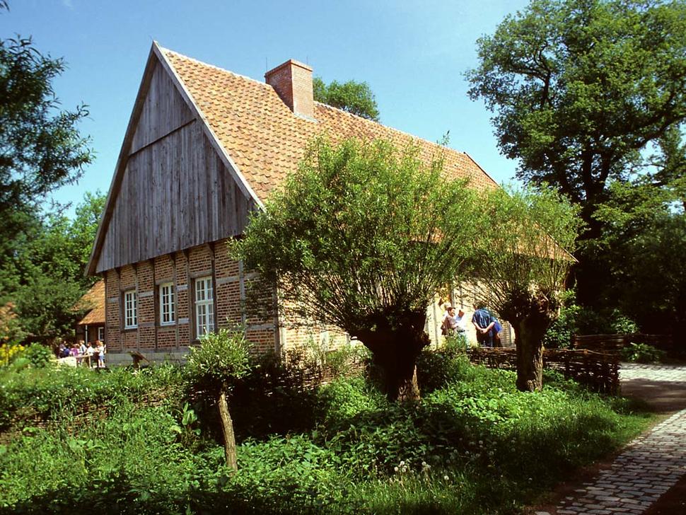 Mühlenhof-Freilichtmuseum, Münster (Foto: Renate Schmitz)