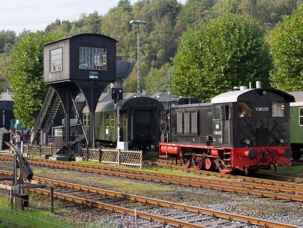 Eisenbahnmuseum, Bochum (Foto: Werner Stapelfeldt)