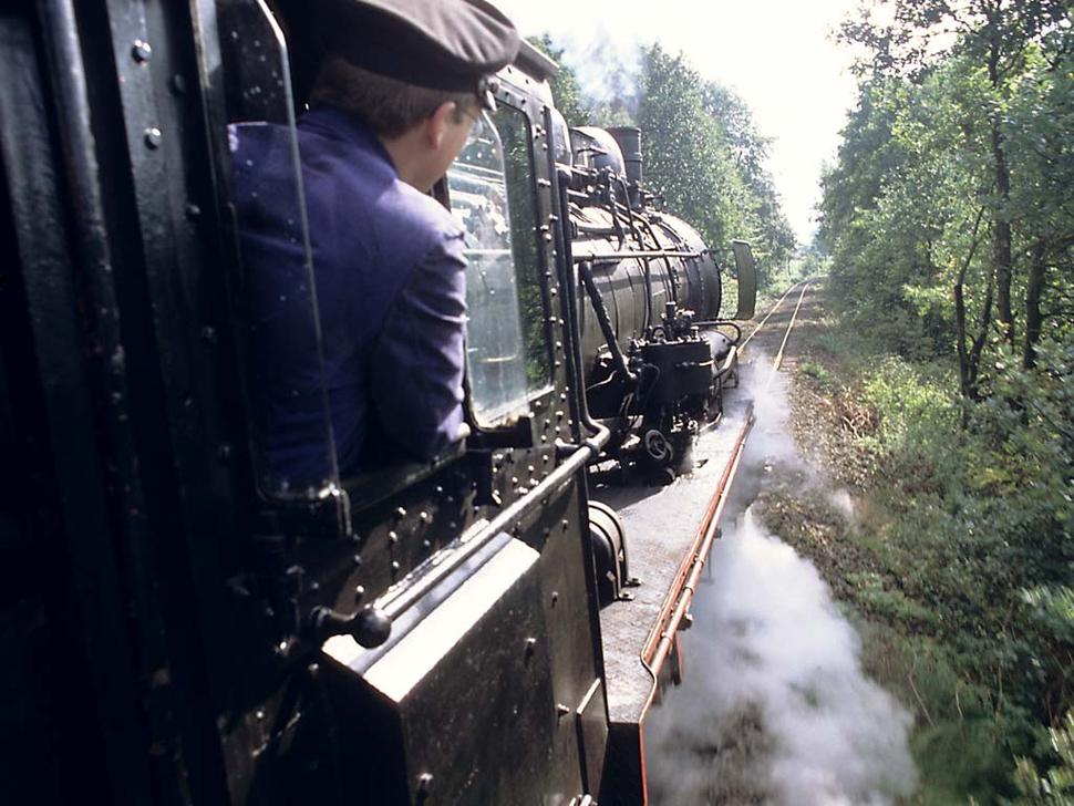 """Fahrten mit dem """"Teuto-Express"""""""