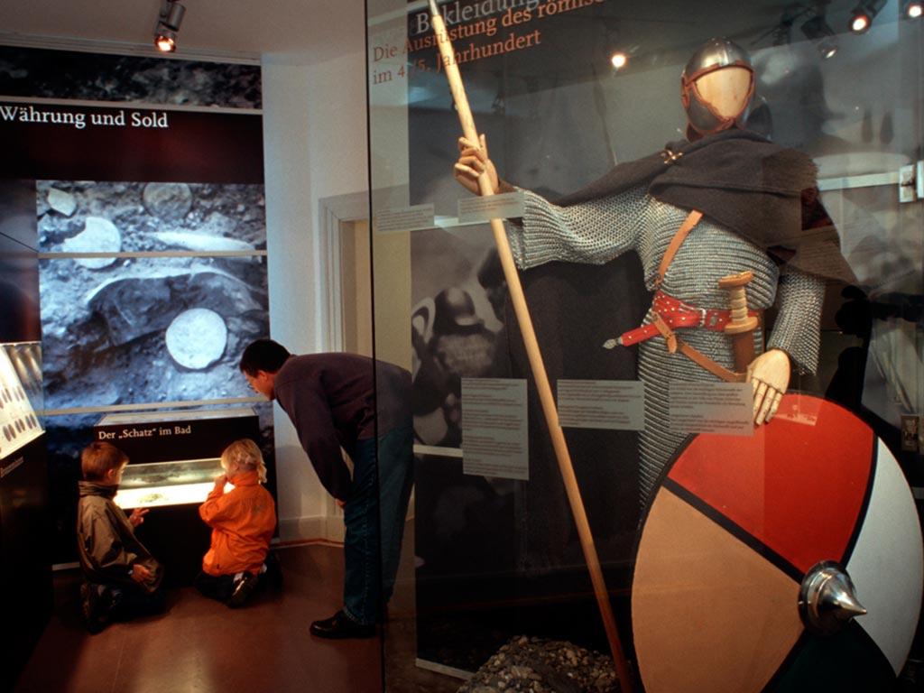 Archäologisches Museum Monheim (Foto: Werner Stapelfedt)