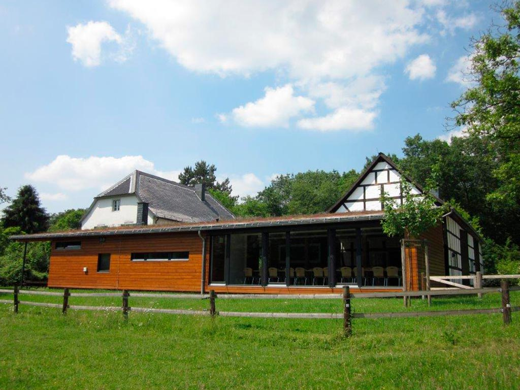Besucher-Portal Steinhaus, Wahner Heide (Foto: Burkhard Bunse)