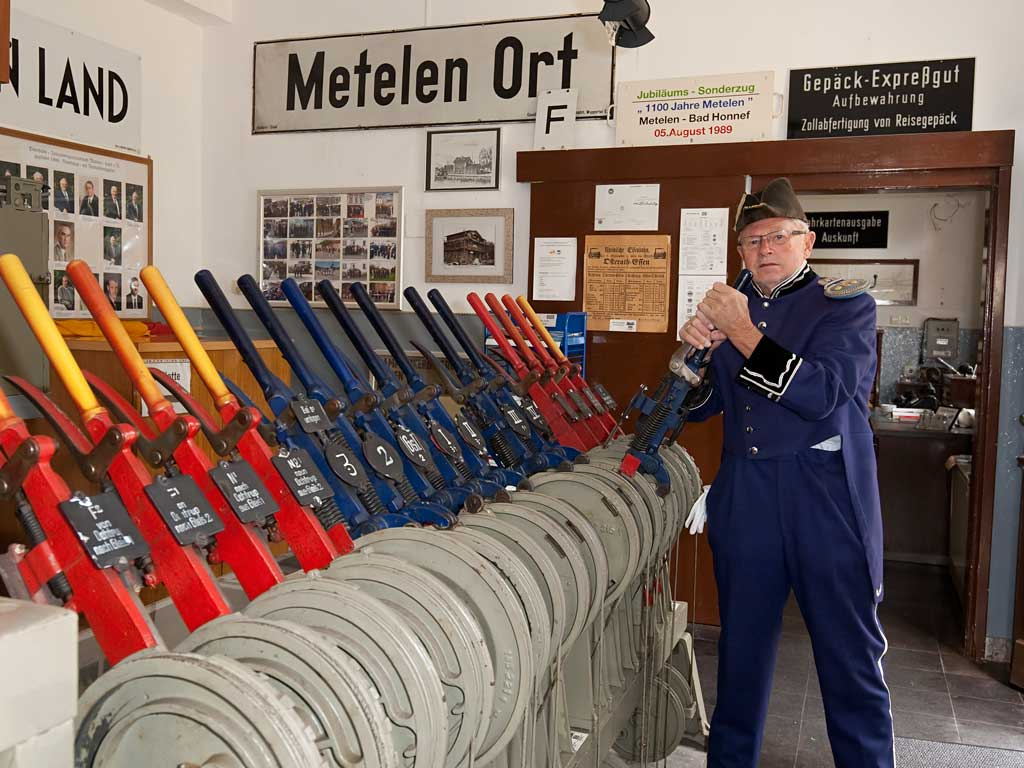 Bahnhofsmuseum Metelen, (Foto: Bernd Hegert)
