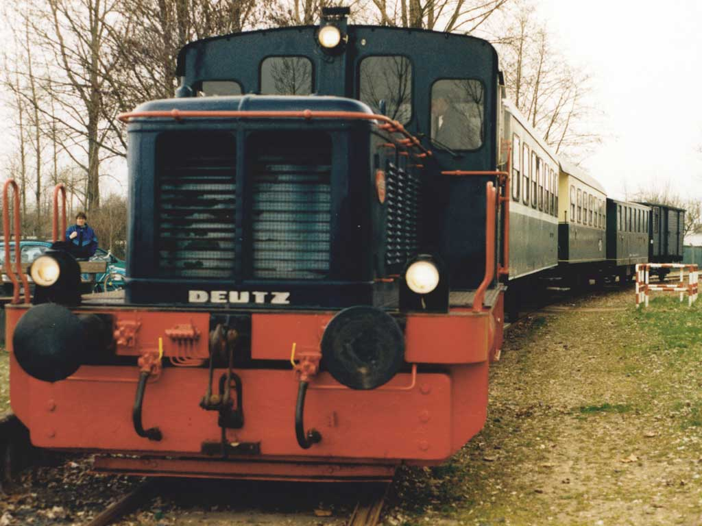 Historische Eisenbahn, Wesel (Foto: Archiv NRW-Stiftung)