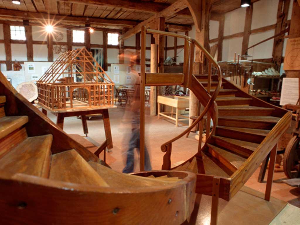 Holzhandwerkmuseum, Hiddenhausen (Foto: Lars Langemeier)