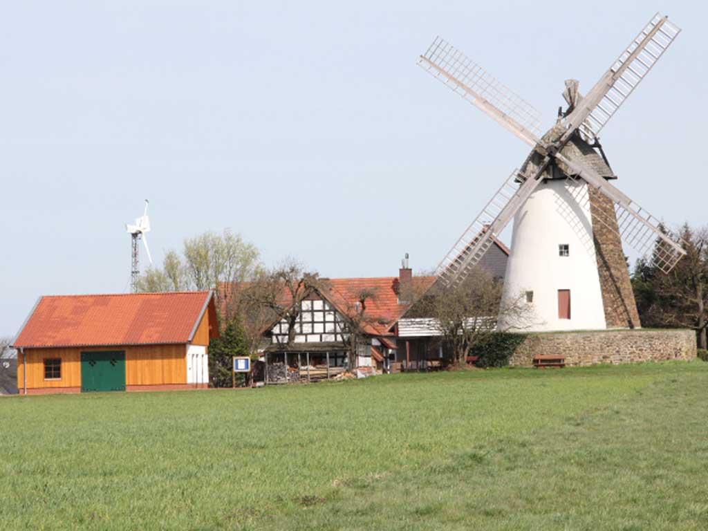 Windmühle Eickhorst, Hille (Foto: Klaus Dieter Grannemann)