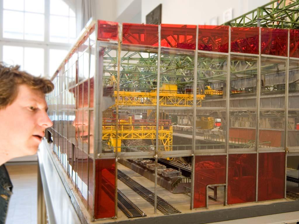 Hoesch-Museum, Dortmund (Foto: Werner Stapelfeldt)